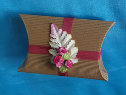 Fern and Rose Pillow Box