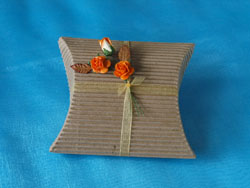 Autumn Rose Pillow Box