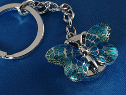 Butterfly Watch Keyring