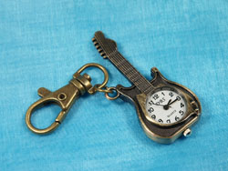 Guitar Watch Keyring