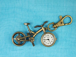 Bicycle Watch Keyring