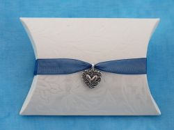 Heart Charm Pillow Box Kit