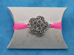 Large Open Flower Charm Pillow Box Kit